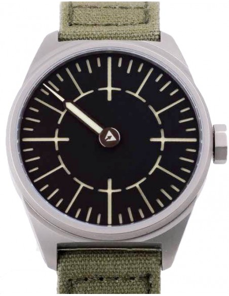 Subdelta Quattro one-handed watch with swiss manual movement