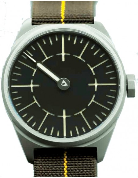 Subdelta Quattro One handed watch with Sellita SW210 movement