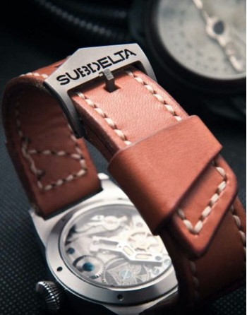 Subdelta Blue Ace Strap and Buckle