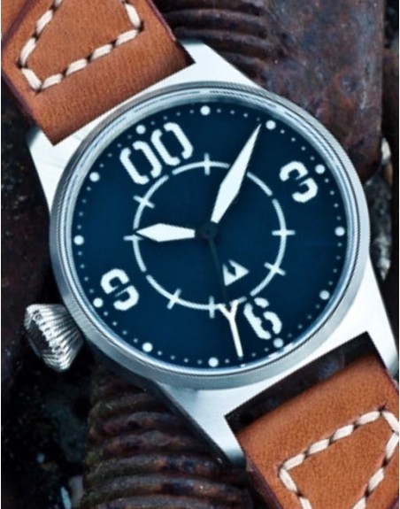 Subdelta Blue Ace Crown and dial