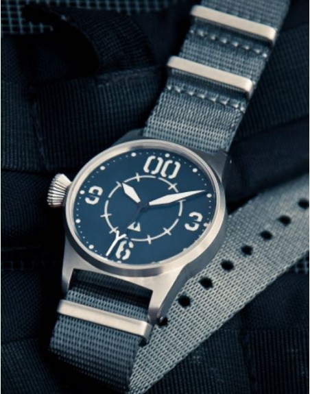 Subdelta Blue Ace on a high quality Nato strap