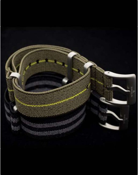 Subdelta Green Nato Strap 20mm Paratrooper style French Parachute
