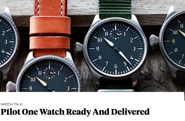 Review watches Subdelta Fratellowatches