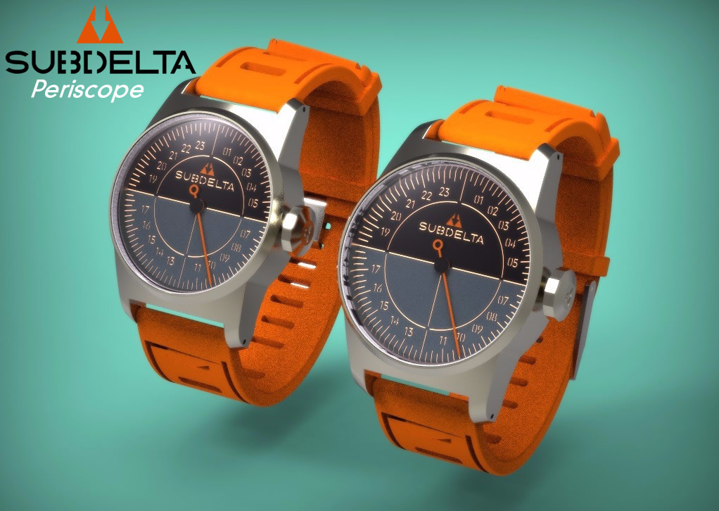 Subdelta Periscope Singlehand Watch