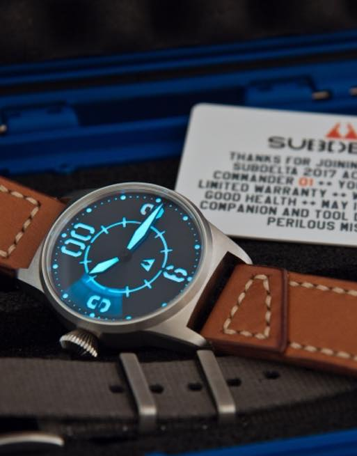 Subdelta Blue Ace Lumeshot