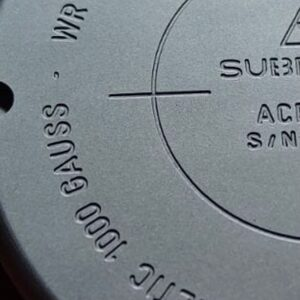 Deep Engraving of the Caseback in progress, deliveries of the Ace Mk2 will start within a few weeks.